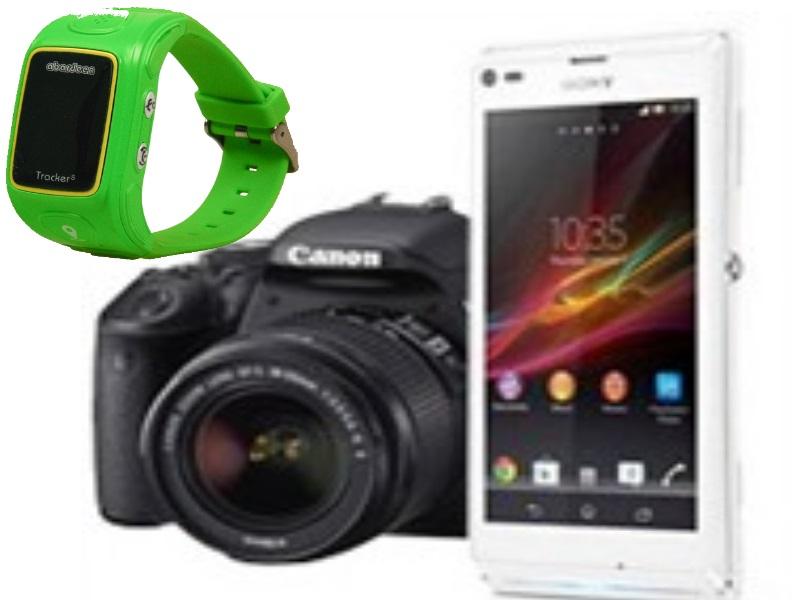 Telefony, Foto, GPS