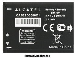 ALCATEL ONETOUCH Baterie 400mAh