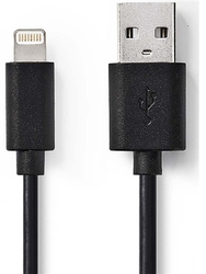 Nedis Apple Lightning-USB CCGB39300BK10