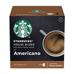 Starbucks MEDIUM HOUSE BLEND 12Caps 102g