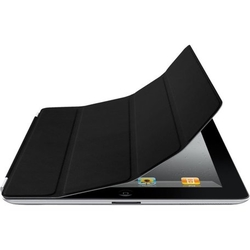 Apple iPad Smart Cover - Leather - Black