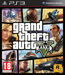 HRA PS3 Grand Theft Auto 5