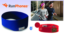 RunPhones® Wireless Blue M RB2UM
