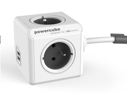 Allocacoc PowerCube Extended USB Grey