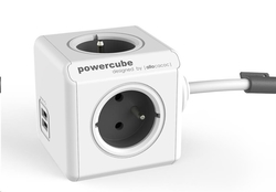 Allocacoc PowerCube Extended USB 3m