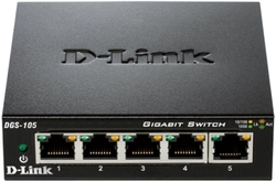 D-LINK 10/100/1000 5-p. switch (DGS-105)