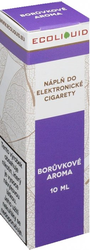 Liquid Ecoliquid Blueberry 10ml - 18mg (Borůvka)