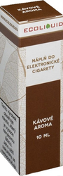 Liquid Ecoliquid Coffee 10ml - 12mg (Káva)